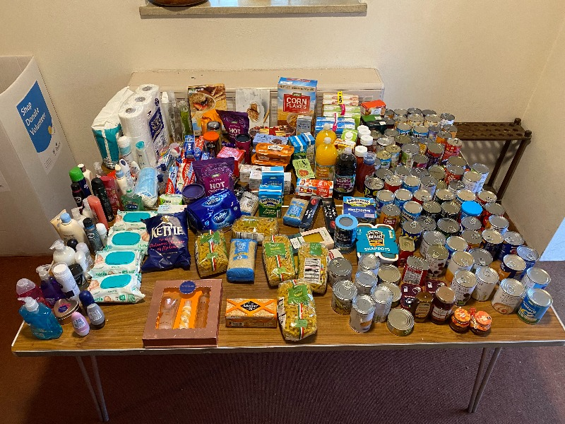 Foodbankcollection - Wed 28Oct