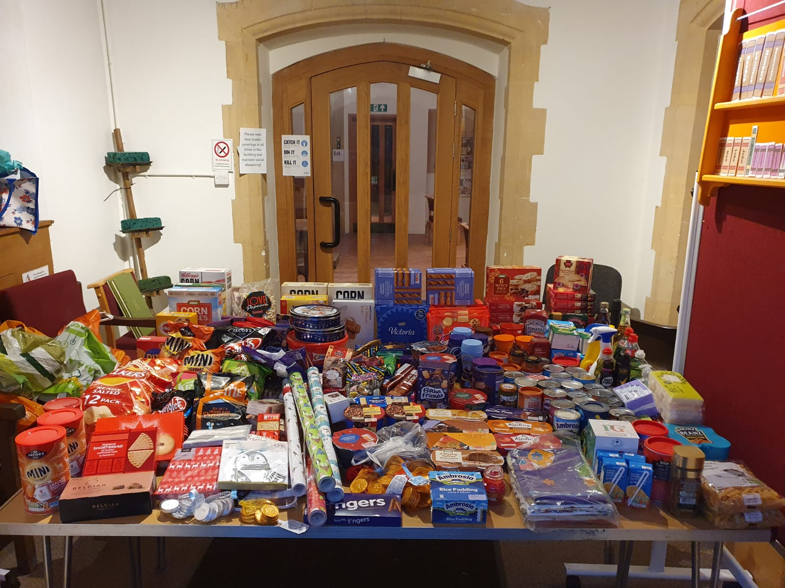 Food bank collection 18.11.20